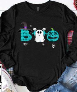 Pretty boo ovarian cancer awareness halloween shirt 1 1 247x296 - Pretty boo ovarian cancer awareness halloween shirt