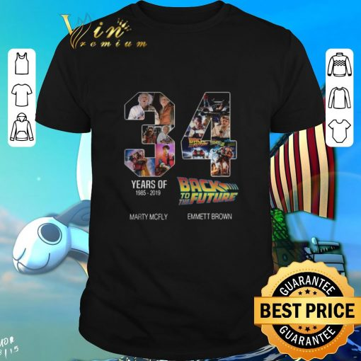 Top 34 years of Back to the future 1985 2019 shirt 1 1 510x510 - Top 34 years of Back to the future 1985-2019 shirt