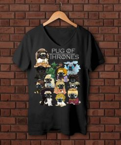 Top Game Of Thrones Pug Of Thrones shirt Kutee Boutique