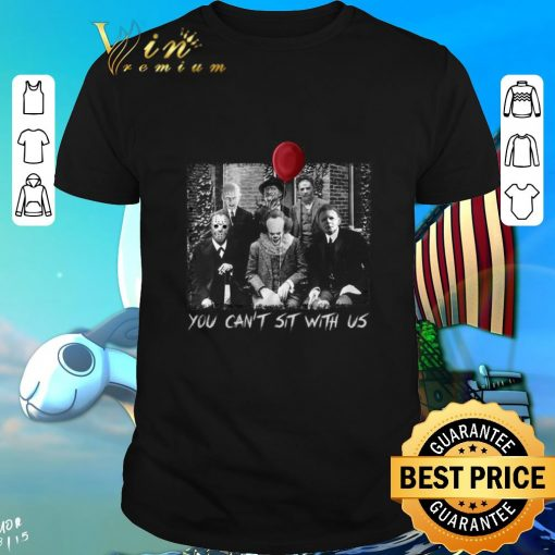 Top Horror movie characters you can t sit with us shirt 1 1 510x510 - Top Horror movie characters you can't sit with us shirt