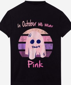 Top In October We Wear Pink Ghost Boo Breast Cancer Awareness shirt 1 1 247x296 - Top In October We Wear Pink Ghost Boo Breast Cancer Awareness shirt