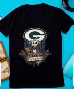 Top Jack Skellington Halloweens Green Bay Packer NFL shirt 1 1 247x296 - Top Jack Skellington Halloweens Green Bay Packer NFL shirt