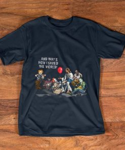Top Jesus and Horror characters that s how I saved the world Halloween shirt 1 1 247x296 - Top Jesus and Horror characters that's how I saved the world Halloween shirt