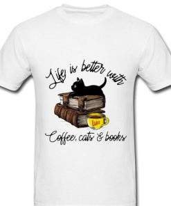 Top Life Is Better With Luke s Coffee Cats And Books shirt 1 1 247x296 - Top Life Is Better With Luke's Coffee, Cats And Books shirt