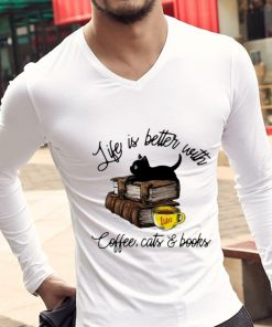 Top Life Is Better With Luke s Coffee Cats And Books shirt 2 1 247x296 - Top Life Is Better With Luke's Coffee, Cats And Books shirt