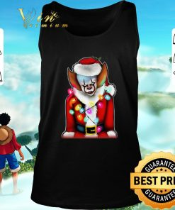 Top Pennywise Santa Claus Christmas lights IT shirt 2 1 247x296 - Top Pennywise Santa Claus Christmas lights IT shirt