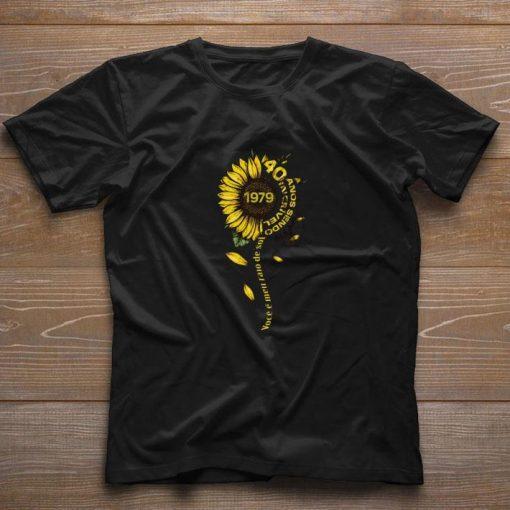 Top Sunflower 1979 40 anos sendo incrivel voce e meu raio de sol shirt 1 1 510x510 - Top Sunflower 1979 40 anos sendo incrivel voce e meu raio de sol shirt