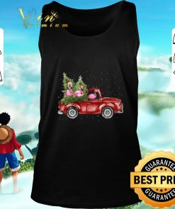 Awesome Flamingos ride red truck Christmas shirt 2 1 247x296 - Awesome Flamingos ride red truck Christmas shirt