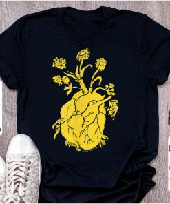 Awesome Floral Heart Sunflower shirt 1 1 247x296 - Awesome Floral Heart Sunflower shirt
