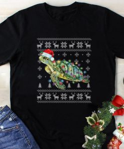Awesome Sea Turtle In Santa Hat Ugly Christmas Save The Turtle shirt 1 1 247x296 - Awesome Sea Turtle In Santa Hat Ugly Christmas Save The Turtle shirt
