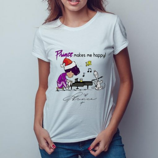 Awesome Snoopy And Woodstock Prince Make Me Happy Signature shirt 3 1 510x510 - Awesome Snoopy And Woodstock Prince Make Me Happy Signature shirt
