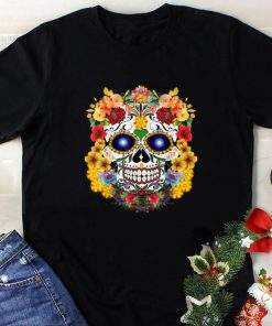 Awesome Sugar Skull Of Flowers shirt 1 1 247x296 - Awesome Sugar Skull Of Flowers shirt