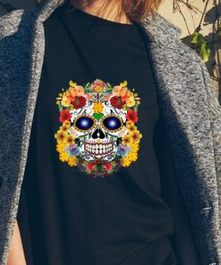 Awesome Sugar Skull Of Flowers shirt 2 1 247x296 - Awesome Sugar Skull Of Flowers shirt