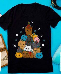 Cat Kitten Christmas Tree sweater 1 1 247x296 - Cat Kitten Christmas Tree sweater