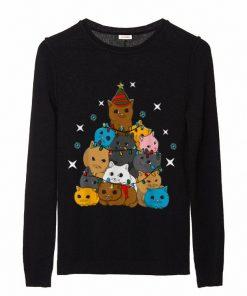 Cat Kitten Christmas Tree sweater 2 1 247x296 - Cat Kitten Christmas Tree sweater
