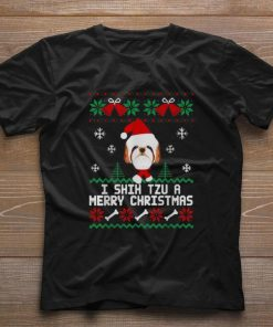 Funny I Shih Tzu A Merry Christmas ugly sweater 1 1 247x296 - Funny I Shih Tzu A Merry Christmas ugly sweater