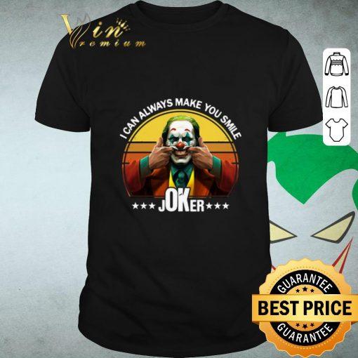 Funny I can always make you smile Joker Retro shirt 1 1 510x510 - Funny I can always make you smile Joker Retro shirt
