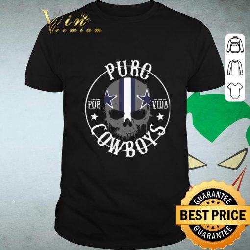 Funny Skull Puro Por Vida Dallas Cowboys shirt 1 1 510x510 - Funny Skull Puro Por Vida Dallas Cowboys shirt