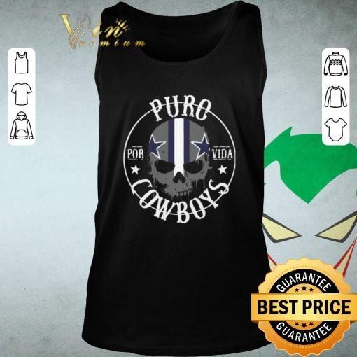 Funny Skull Puro Por Vida Dallas Cowboys shirt 2 1 510x510 - Funny Skull Puro Por Vida Dallas Cowboys shirt