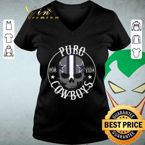 Funny Skull Puro Por Vida Dallas Cowboys shirt 3 1 510x510 - Funny Skull Puro Por Vida Dallas Cowboys shirt