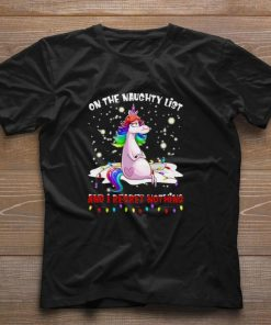 Funny Unicorn on the naughty list and i regret nothing Christmas shirt 1 1 247x296 - Funny Unicorn on the naughty list and i regret nothing Christmas shirt