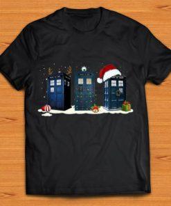 Great Doctor Who Tardis Police Box Christmas shirt 1 1 247x296 - Great Doctor Who Tardis Police Box Christmas shirt