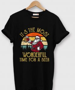 Great Vintage Santa Claus It s The Most Wonderful Time For A Beer shirt 1 1 247x296 - Great Vintage Santa Claus It's The Most Wonderful Time For A Beer shirt