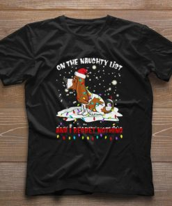 Hot Basset Hound On the naughty list and i regret nothing Christmas shirt 1 1 247x296 - Hot Basset Hound On the naughty list and i regret nothing Christmas shirt