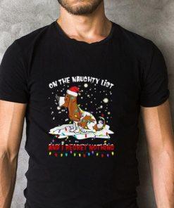 Hot Basset Hound On the naughty list and i regret nothing Christmas shirt 2 1 247x296 - Hot Basset Hound On the naughty list and i regret nothing Christmas shirt