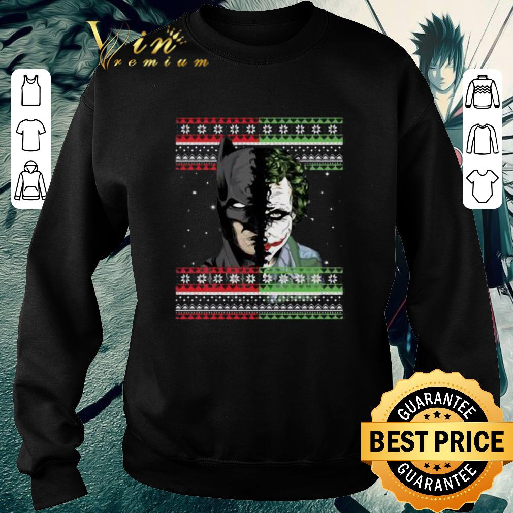Hot Batman Joker ugly Christmas shirt