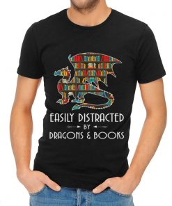 Hot Easily Distracted By Dragons And Books shirt 2 1 247x296 - Hot Easily Distracted By Dragons And Books shirt