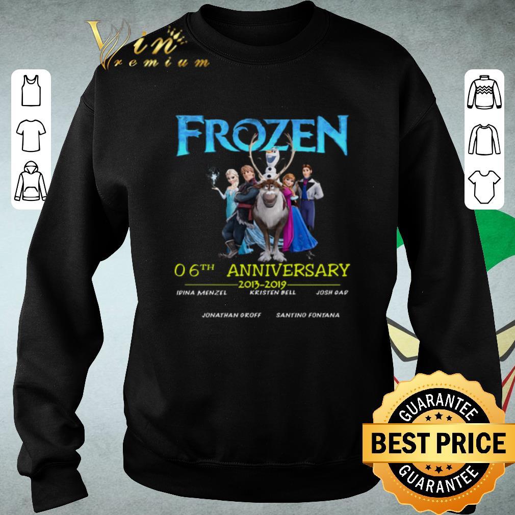Hot Frozen 06th anniversary 2013-2019 shirt