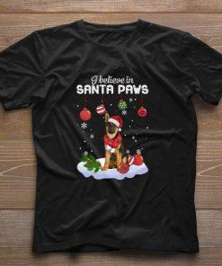 Hot German Shepherd I believe in Santa Paws Christmas shirt 1 1 247x296 - Hot German Shepherd I believe in Santa Paws Christmas shirt