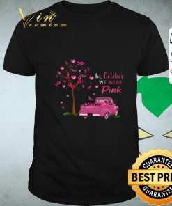 Hot In october we wear pink truck breast cancer awareness shirt 1 1 247x296 - Hot In october we wear pink truck breast cancer awareness shirt