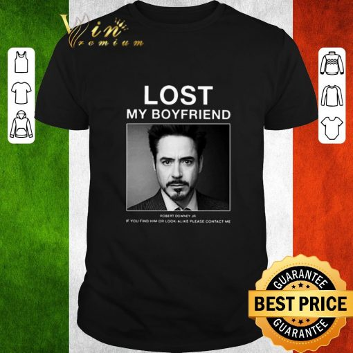 Hot Lost My Boyfriend Robert Downey Jr if you find him or look alike shirt 1 1 510x510 - Hot Lost My Boyfriend Robert Downey Jr if you find him or look alike shirt