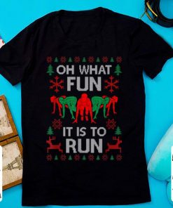 Hot Oh What Fun It Is To Run Funny Runner Christmas Running Gift shirt 1 1 247x296 - Hot Oh What Fun It Is To Run Funny Runner Christmas Running Gift shirt