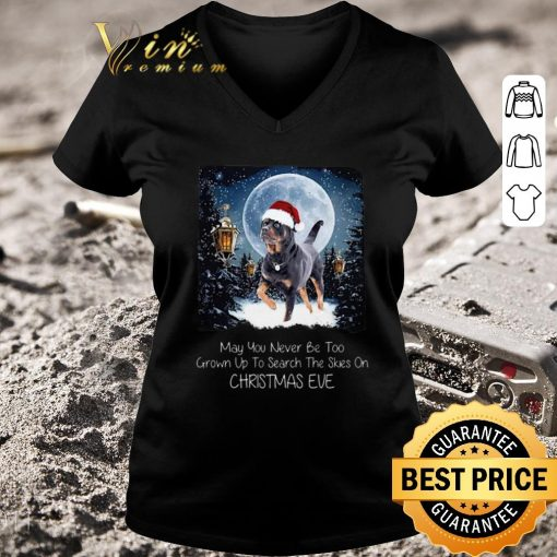 Hot Rottweiler may you never be too grown up to search the skies on Christmas eve shirt 3 1 510x510 - Hot Rottweiler may you never be too grown up to search the skies on Christmas eve shirt