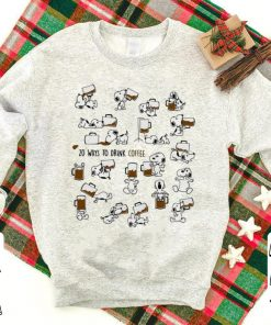 Hot Snoopy 20 Ways To Drink Coffee shirt 1 1 247x296 - Hot Snoopy 20 Ways To Drink Coffee shirt
