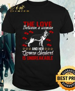 Hot The love between a woman and her German Shepherd is unbreakable shirt 1 1 247x296 - Hot The love between a woman and her German Shepherd is unbreakable shirt