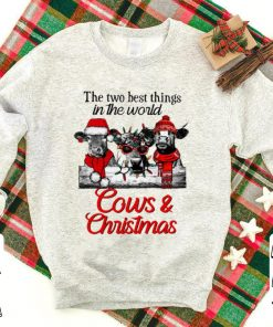 Hot The two best thing in the world Cows and Christmas shirt 1 1 247x296 - Hot The two best thing in the world Cows and Christmas shirt