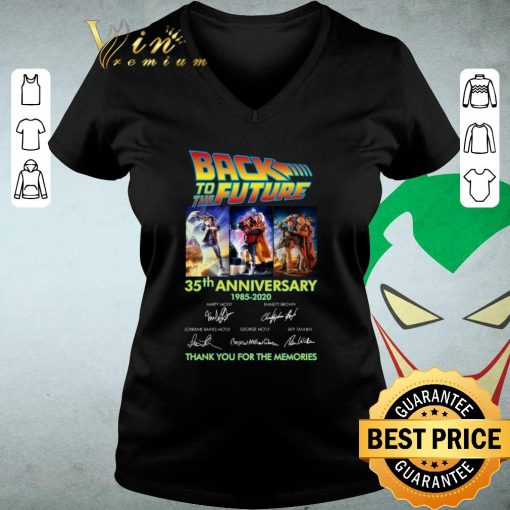 Nice Back to the future 35th anniversary 1985 2020 signatures shirt 3 1 510x510 - Nice Back to the future 35th anniversary 1985-2020 signatures shirt