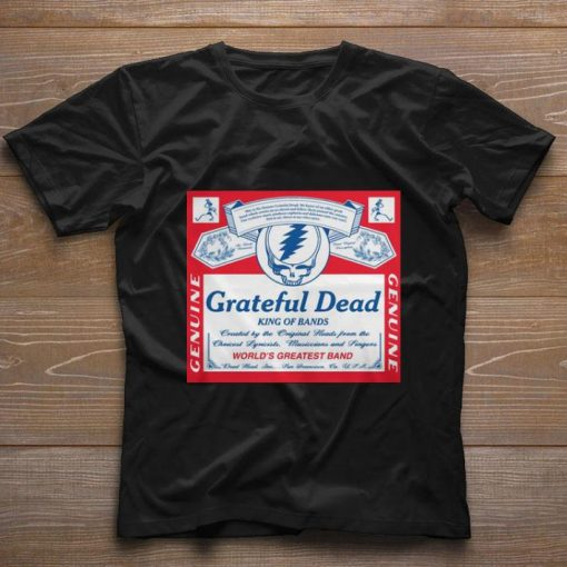 Nice Grateful Dead King of bands world s greatest band shirt 1 1 510x510 - Nice Grateful Dead King of bands world's greatest band shirt