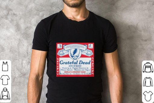 Nice Grateful Dead King of bands world s greatest band shirt 2 1 510x340 - Nice Grateful Dead King of bands world's greatest band shirt