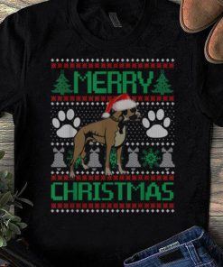 Nice Merry Christmas Boxer Ugly Matching Funny Gift Dog Lover shirt 1 1 247x296 - Nice Merry Christmas Boxer Ugly Matching Funny Gift Dog Lover shirt