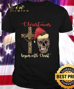 Nice Skull leopard Christmas Begins with Christ shirt 1 1 247x296 - Nice Skull leopard Christmas Begins with Christ shirt