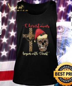 Nice Skull leopard Christmas Begins with Christ shirt 2 1 247x296 - Nice Skull leopard Christmas Begins with Christ shirt