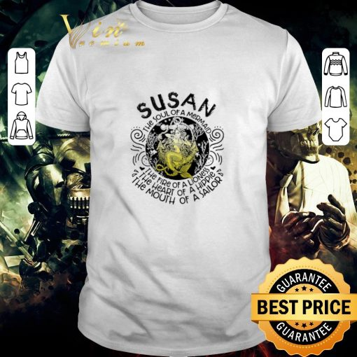 Nice Susan the soul of a mermaid the fire of a lioness hippie sailor shirt 1 1 510x510 - Nice Susan the soul of a mermaid the fire of a lioness hippie sailor shirt