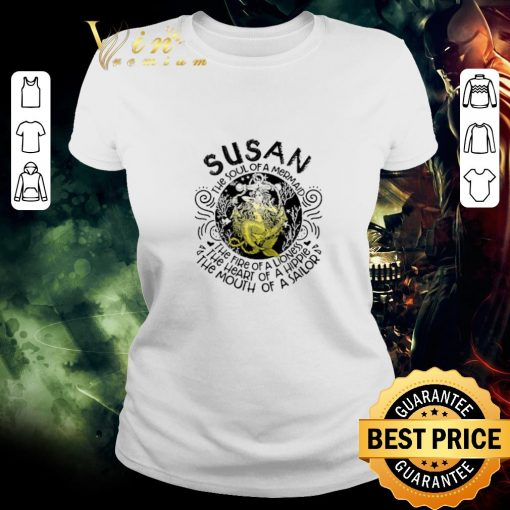Nice Susan the soul of a mermaid the fire of a lioness hippie sailor shirt 2 1 510x510 - Nice Susan the soul of a mermaid the fire of a lioness hippie sailor shirt