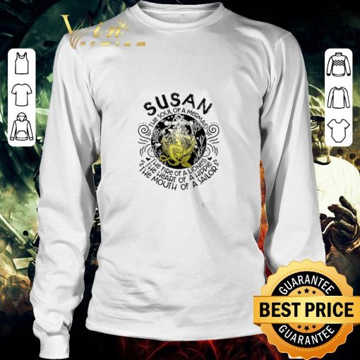 Nice Susan the soul of a mermaid the fire of a lioness hippie sailor shirt 3 1 510x510 - Nice Susan the soul of a mermaid the fire of a lioness hippie sailor shirt