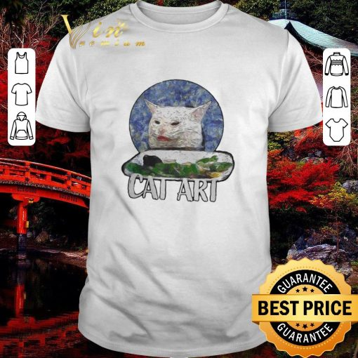 Official Angry Yelling At Confused Cat At Dinner Table Meme 2020 shirt 1 1 510x510 - Official Angry Yelling At Confused Cat At Dinner Table Meme 2020 shirt